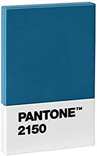 Copenhagen design Pantone Credit & Business Holder, Plastic Card Case, 95x60x11 mm, Blue, 2150, One Size