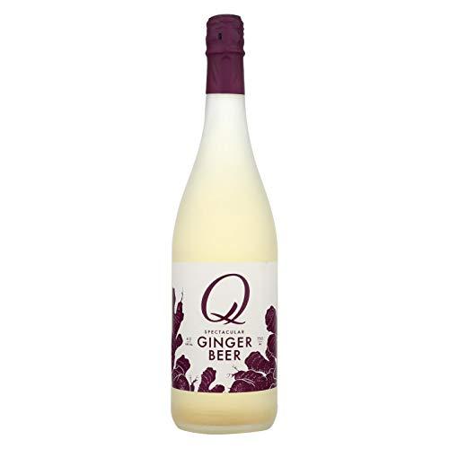 Q Drinks, Ginger Beer 25.4 Ounce - 12 Bottles
