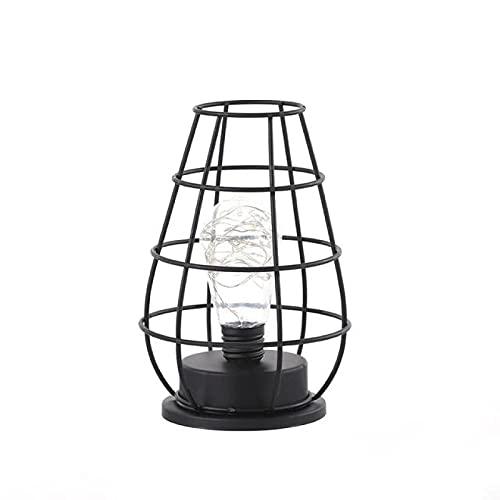 Lsdnlx Lámparas de Escritorio,Lámparas de Mesa para Dormitorio, Sala de Estar, lámpara de Noche LED, lámpara de Cama Moderna de Arte