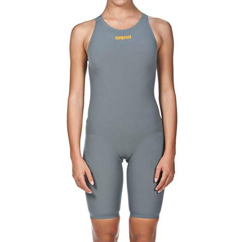 Arena dames Powerskin R-evo een zwempak - open rug badpak