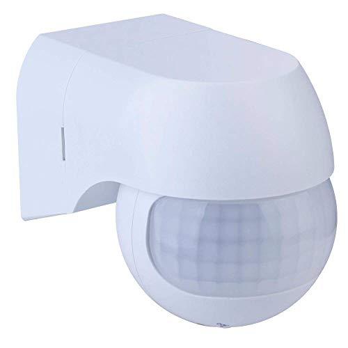 PIR bewegingsmelder 180° draaibare kop - wit - VT-5088