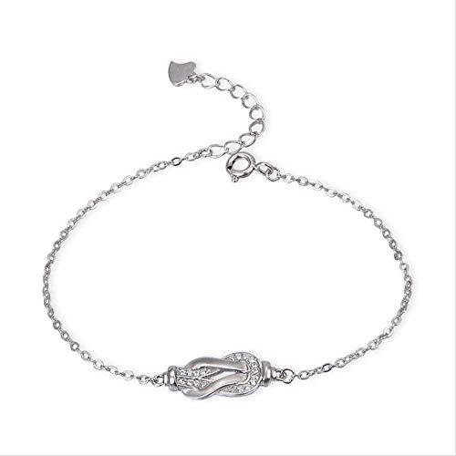 ZHIFUBA Co.,Ltd Collar Americana Bisutería Mujeres S Hand-Med Diamond La Personalidad Creativa Puede Personalizar los Regalos de la Pulsera