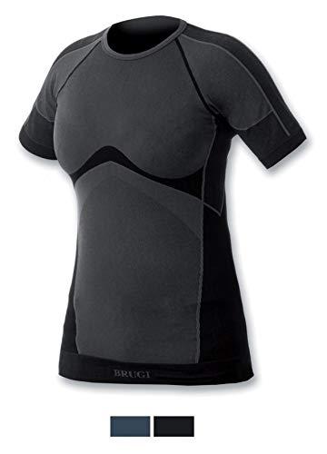 BRUGI T-Shirt Intimo Tecnico DV18 Donna (Nero, L/XL (48-54))