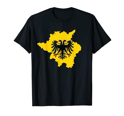 Heiliges Römisches Reich T Shirt Deutscher Nation Flagge