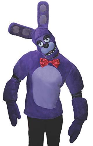 Men's Five Nights at Freddy's Bonnie Costume