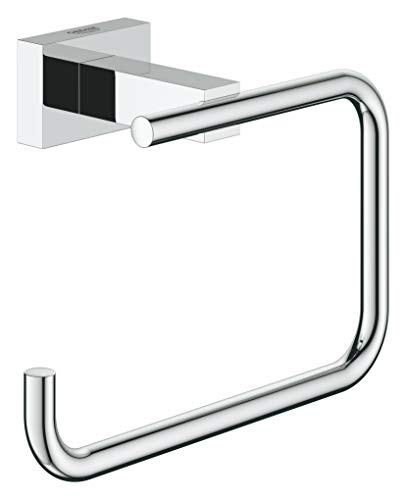 GROHE Essentials Cube Bad-Accessoires (WC-Papierhalter, Material: Metall) chrom, 40507001