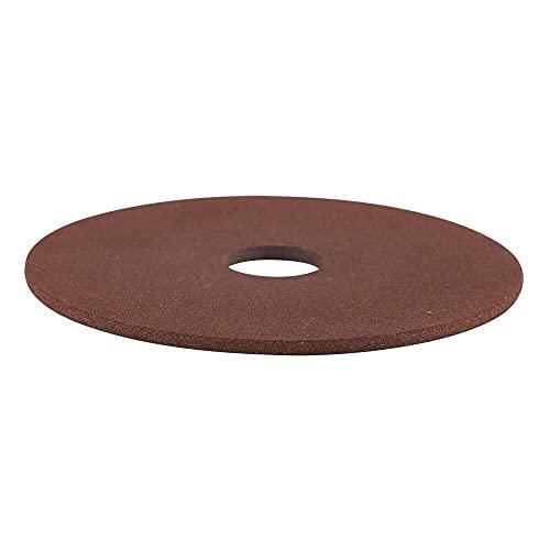 xiaoyu shop Disco de muela de 105 mm x 22 mm para afilador de motosierra de 3/8 '325 echada herramienta aleta disco de muela