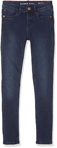 Garcia Kids Mädchen Sanna Jeans, Blau (Dark Used 6142), (Herstellergröße: 128)
