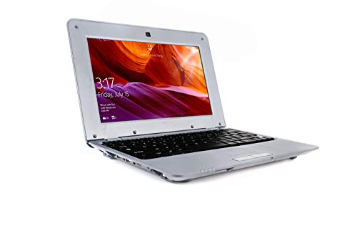 G-Anica Portatile, Display LCD 10.1 Pollici HD (Wifi, 1.5GHz 4 Go RAM 512 Mo) Netbook -Google Android 4.4.2 -Argento