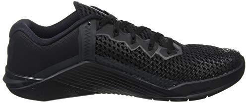 Nike Men's Metcon 6 Training Shoes Black/Anthracite/Metallic Silver 8 M US