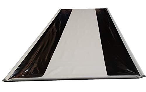 ! Schutzmatte aus LKW-Plane -940gr/m²- für Garage Boden KFZ Werkstatt Bodenabdeckung (5m x 2,4m)