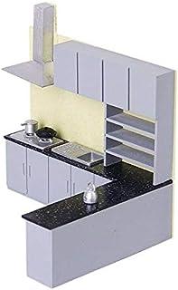 Generic Simulation Kitchen Cabinet Set M l Kit Furniture 1:25 Y6Q5