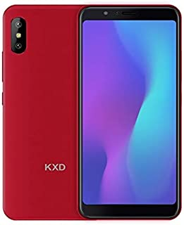 MDY AYSMG KXD 6A, 1GB+8GB, Dual Back Cameras, 5.5 inch Android 8.1 SC7731E Quad Core up to 1.3GHz, Network: 3G, Dual SIM(Black) MDYH (Color : Red)