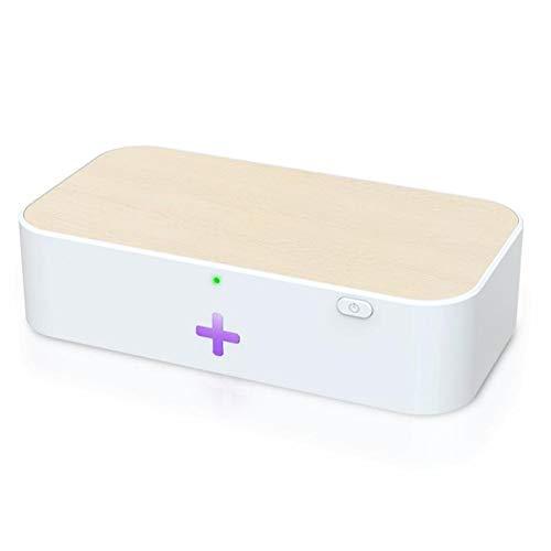 Nologo Wireless-Ladegerät 15W Kleine Handy-Ultraviolett-Sterilisator Handy Drahtlose Putzkasten täglichen Bedarfs Reinigung (Bundle : 01)