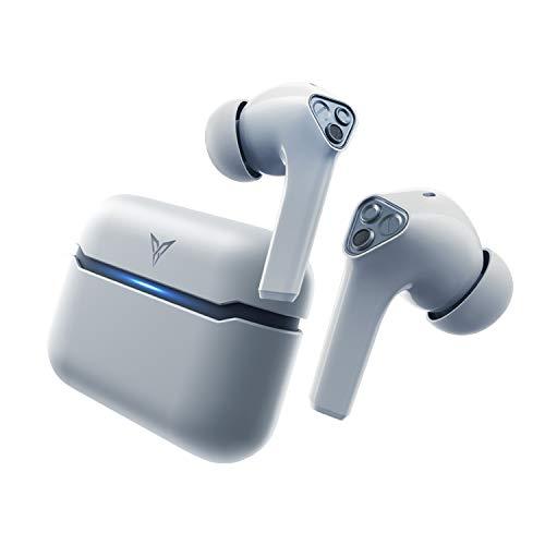 Flydigi Cyberfox T1 True Wireless Bluetooth 60ms Low Latency Gaming Earbuds with Immersive Music - Cyberpunk Grey
