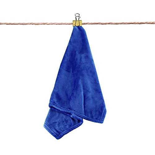 Olycism Manta de Forro Polar para sofá, tamaño pequeño, versátil, Manta Suave y esponjosa con un Acogedor Invierno cálido, Tacto Suave para Cama y sofá, Viaje, Azul Oscuro