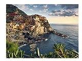 WDZSHLGG Cinque Terre Italien 1000 Teile Puzzle Erwachsene Puzzle Wald Pflanze Tierlandschaft Ozean Dekompressionsspiel