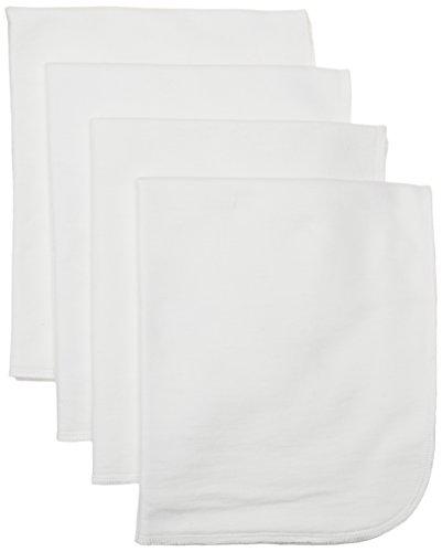 giggle Better Basics Burp Cloths - Set Of 4 (organic Cotton)