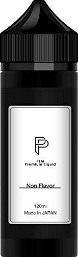 電子タバコ リキッド 無香料 120ml 国産 プルームテック PloomTECH プラス plus VAPE 大容量 100ml + 20ml増量 大容量 たばこ60箱分 ベイプリキッド国産 PLM [4454]