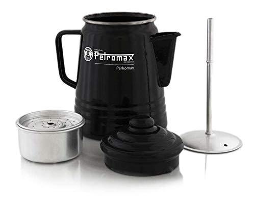 Petromax Emaille Kaffeekanne, Schwarz, 1.5 Liter, 1650690