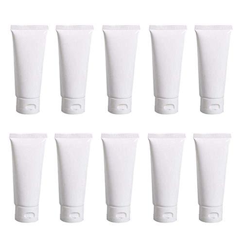 20PCS White Plastic Refill Cosmetic…