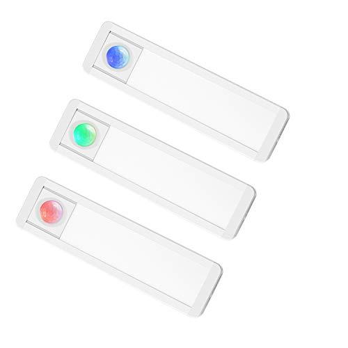 CLY LEDセンサーライト ミニ型 室内 人感センサーライト 夜間ライト 手元灯 階段ライト 28LED ナイトライト 人感点灯 自動消灯 USB充電 マグネット付