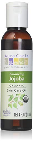 Aura Cacia Certified Organic Skin Care Oil Jojoba 4 oz