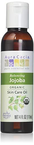 Aura Cacia Jojoba Skin Care Oil ORGANIC 4 oz. bottle 190608 by Frontier Natural Foods