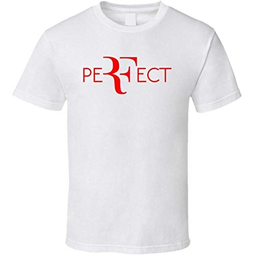 NR Perfect Roger Federer Wimbledon Tennis T Shirt
