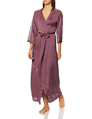 Women' Secret Long Robe Must Vestidos Batas, Granate, S para Mujer