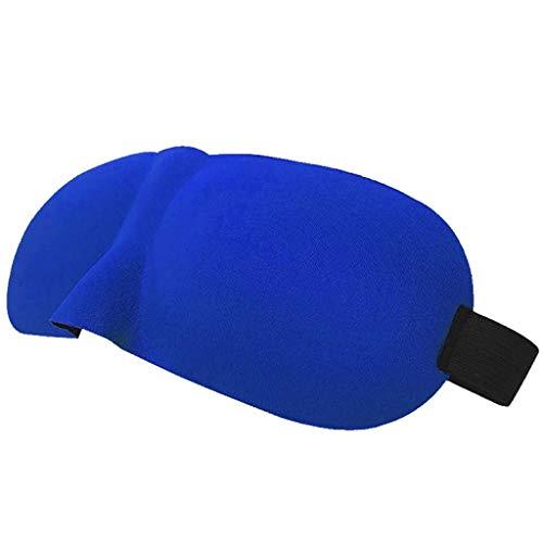 FSSMYZ FS Almohadillas para Dormir, Mascarilla para Dormir, Dormir, Dormir, Máscara Ocular, Sombrear, Hombres Y Mujeres, Comodidad 3D. (Color : D)