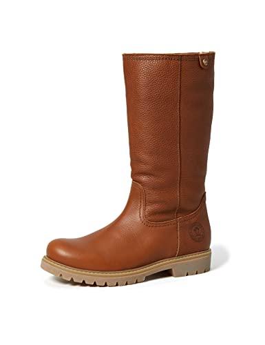 Panama Jack Bambina damskie buty wsuwane z ciepłą wyściółką, brązowy - Braun Bark B11-41 EU
