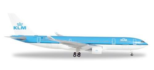 Herpa 530552 KLM Airbus A330-200-PH-AOM Piazza San Marco-Venezia, vliegtuig