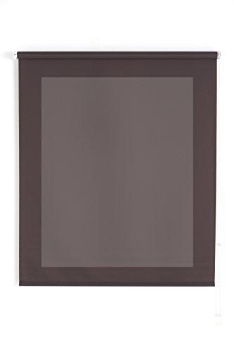 Uniestor Basic - Estor Translucido, Marron Grisaceo, 140X175 cm