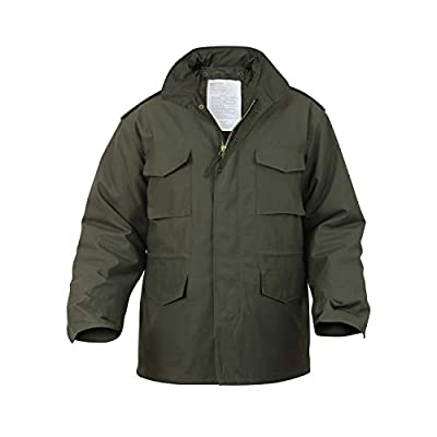 Rothco M-65 Field Jacket, Olive Drab, 3XL