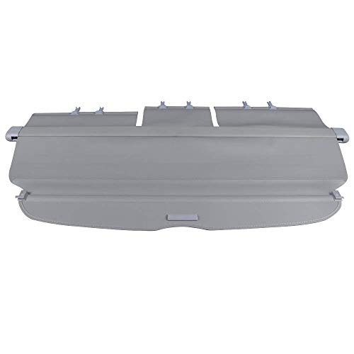 Cargo Cover Compatible With 2007-2011 Honda CRV | Factory Style Gray Luggage Carrier Rear Trunk Security Cover by IKON MOTORSPORTS | 2008 2009 2010