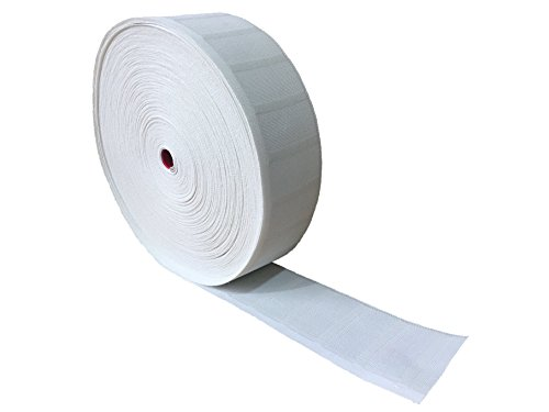 """Yongle Store 3.2"""" X 32 Yards Curtain Tape Curtain Heading Deep Pinch Pleat Tape White (32 Yards Curtain Tape)"""