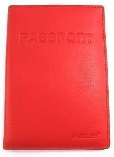 Saddler Men's Uk & European Passport Holder Cover