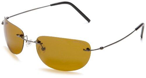 Eagle Eyes - Gafas de sol - para mujer plateado Gunmetal Frame/Gold Brown Lens