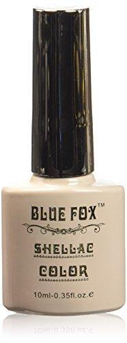 Vernis à ongles gel bleu Renard, blanc crème 10 ml