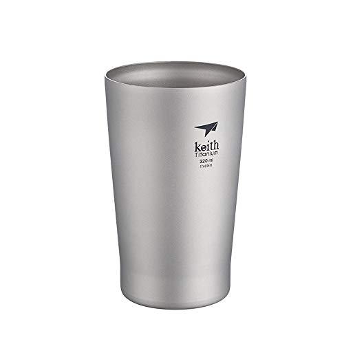 900ml/1200ml 大容量 Keith 純チタン 広口 水筒 アウトドア用 コーヒー お茶 酒用 ボトル 軽量・錆びない 登山 スポーツ チタンキャンプボトル 携帯用 専門キャリーバッグ付き Ti3036-1200ml