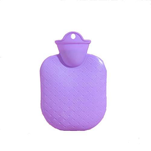Bolsa de agua caliente 1 unids botella de agua 500 ml de inyección de agua caucho de alta densidad de invierno de alta densidad portátil espesado de agua caliente botella de agua de bolsillo d