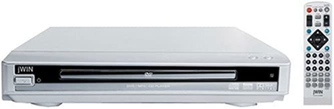 jWIN JDVD141 Compact 2-Channel Progressive Scan DVD Player