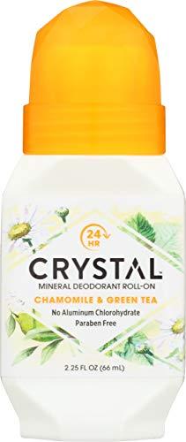 Crystal Deodorant Essence Roll -on Chamomile/Green Tea 65 ML