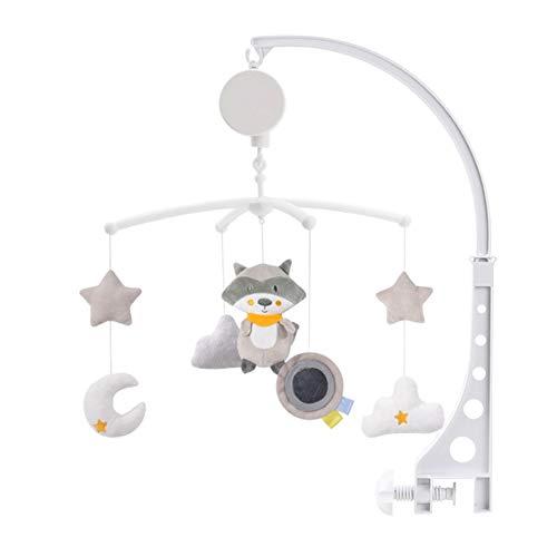 ベッドメリー ベビーベッドおもちゃ ベビーベッド用 オルゴール ぬいぐるみ ベビーおもちゃ 自動回転 ベル おもちゃ 吊り下げ式 赤ちゃんベッドメリー 赤ちゃん ベッド飾り 赤ちゃん ベビー ベッドメリー用 知育寝具 簡単に眠り 出産祝い (1A)