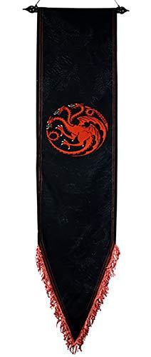 フランスベッド Game of Thrones Bandera Juego de Tronos k Targaryen Bandera