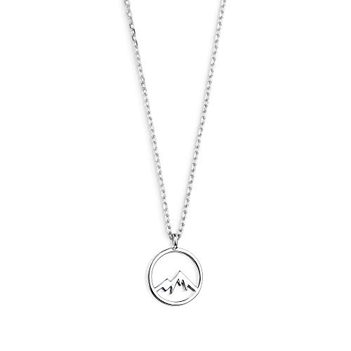 XENOX XS3175 Damen Collier Berg Sterling-Silber 925 Silber 45 cm