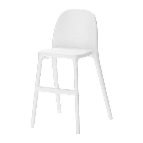 IKEA URBANO - silla Junior, blanco