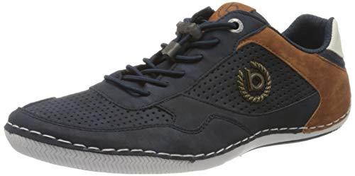 bugatti Herren 321480105000 Sneaker, Blau, 44 EU