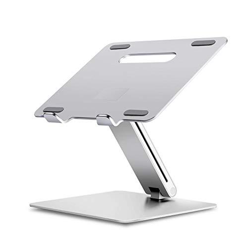 Soporte para ordenador portátil, altura ajustable ergonómica, sofá cama, portátil, soporte de aluminio, elevador para ordenador portátil, portátil de 11 a 16 pulgadas